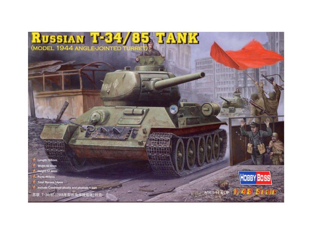 Ruský tank T-34/85 1944 1:48