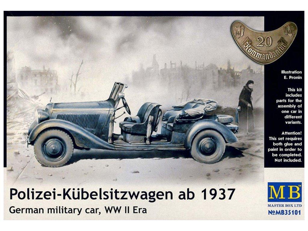 Polizei-Kubelsitzwagen (1939) 1:35