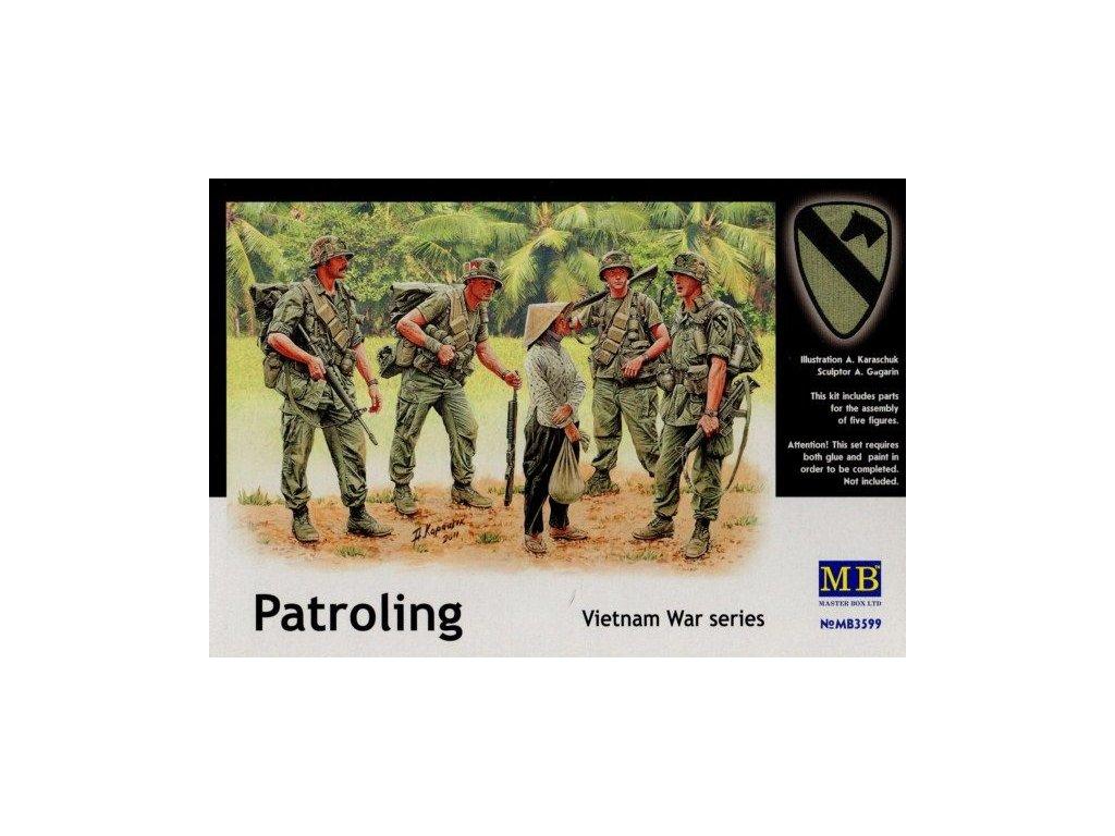 Patroling Vietnam / hliadka vo Vietname 1:35