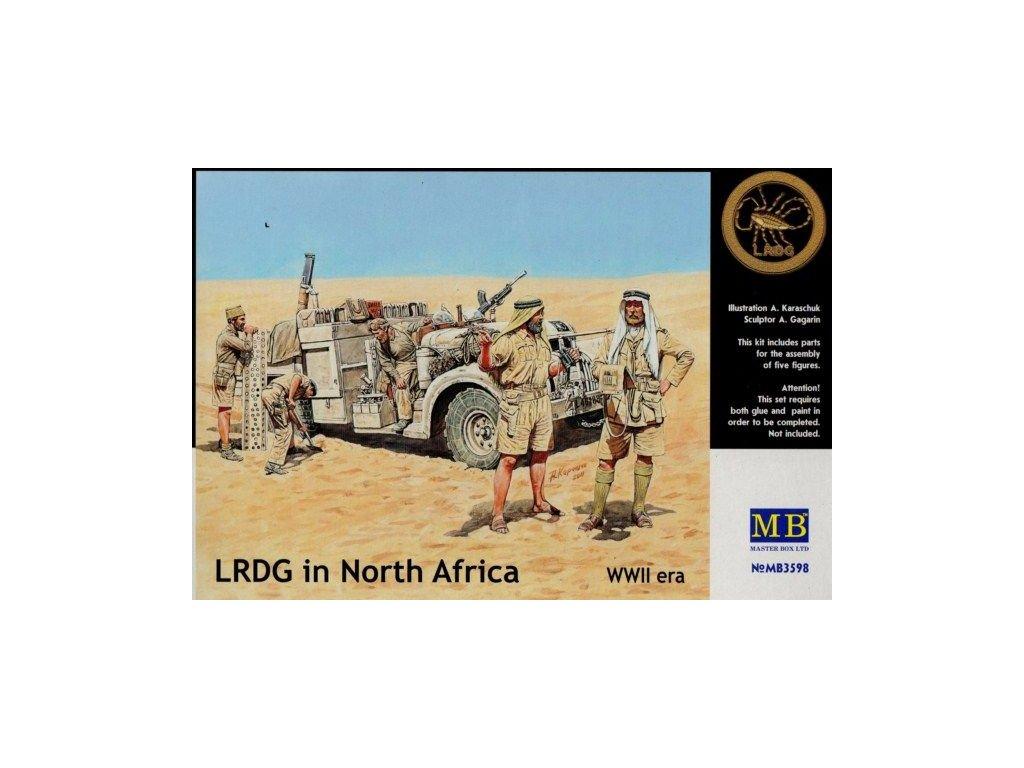 LRDG in North Africa / posádka LRDG v severnej Afrike 1:35