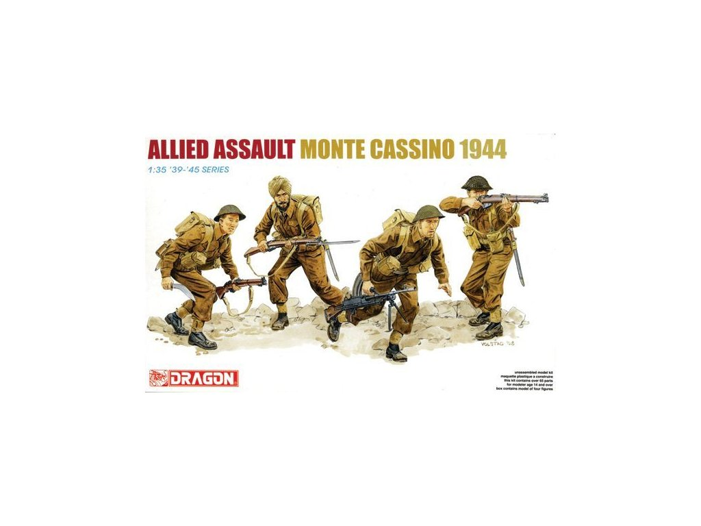 Allied Assault, Monte Casino 1944 1:35