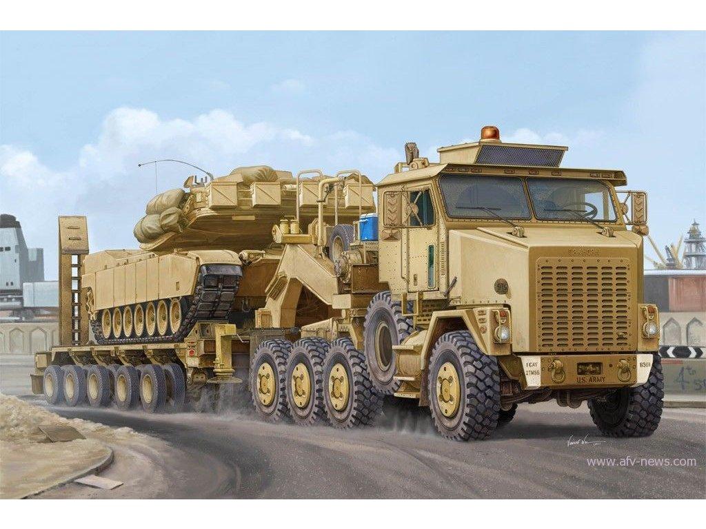 HET M1070 Truck Tractor & M1000 Semi-trailer 1:35