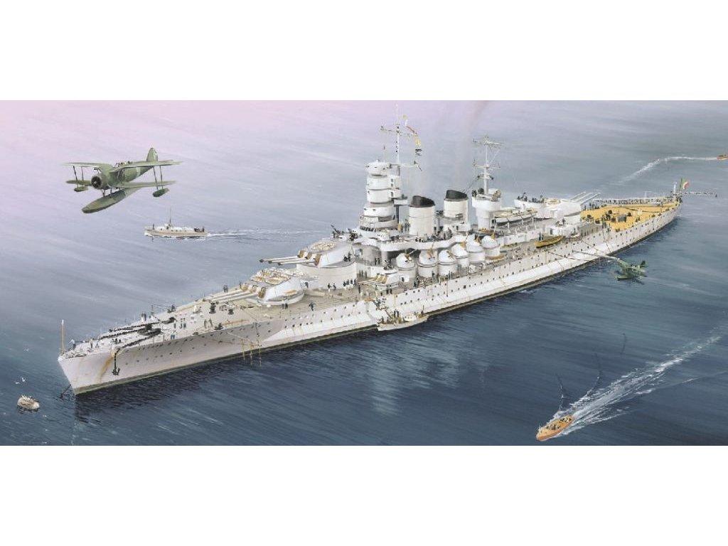 Italian Battleship RN V. Veneto 1940 1:700