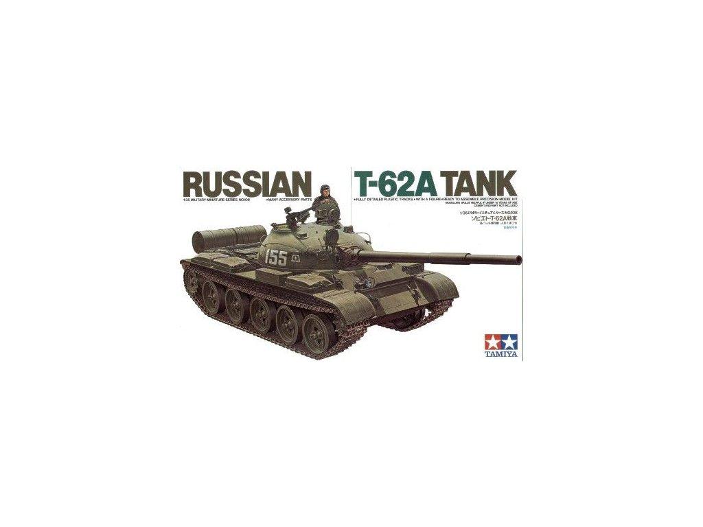 Russian T-62A Tank 1:35