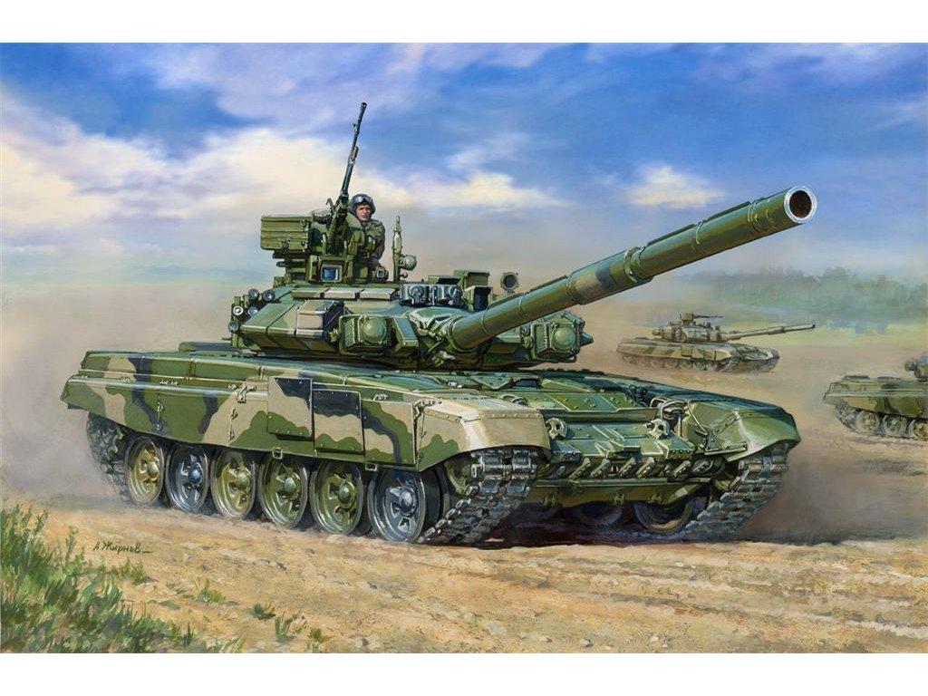 Ruský tank T-90 1:35