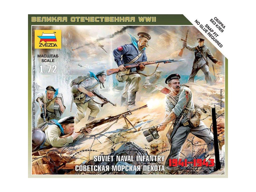 Soviet Naval Infantry 1:72