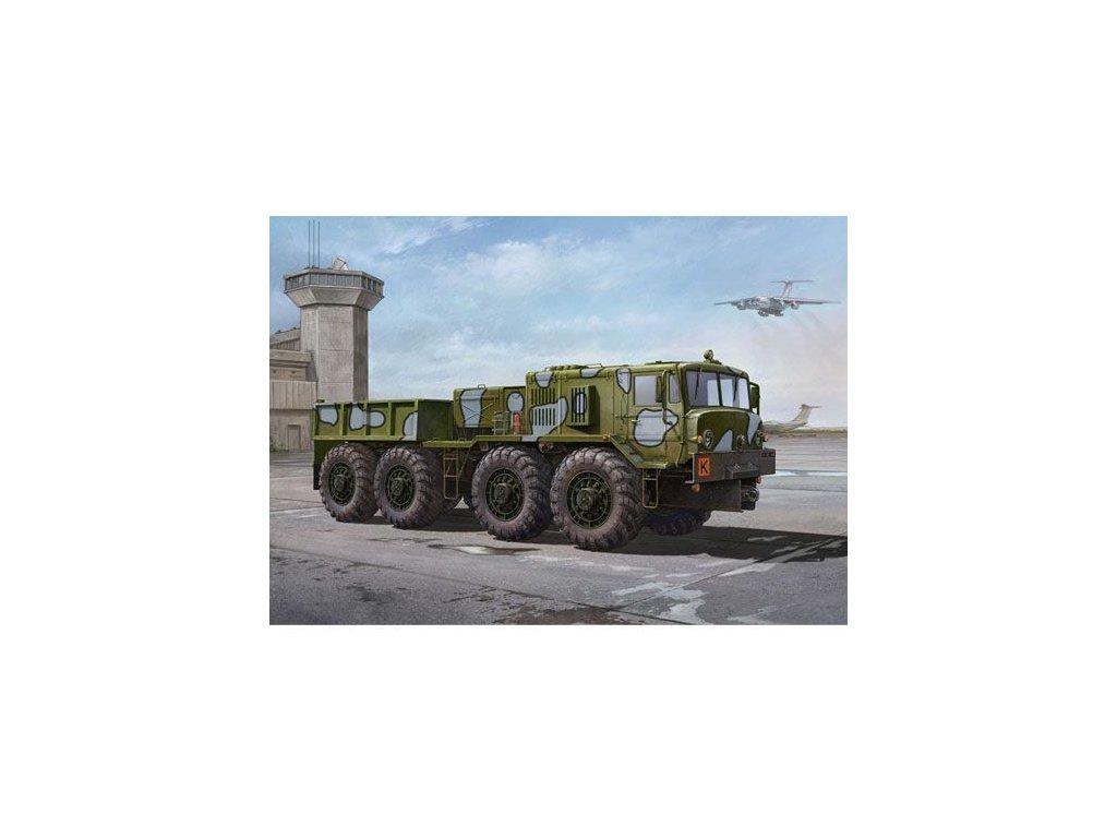 Soviet MAZ/KZKT-537L Cargo Truck 1:35
