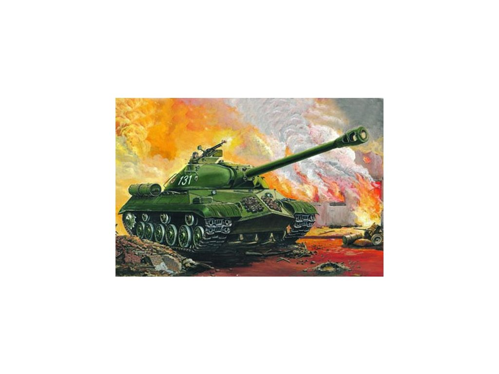IS-3M Heavy tank Rusko 1:35