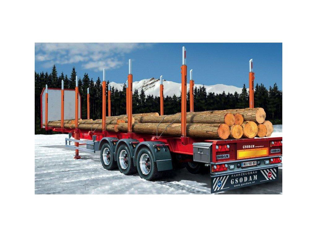 Timber Trailer 1:24