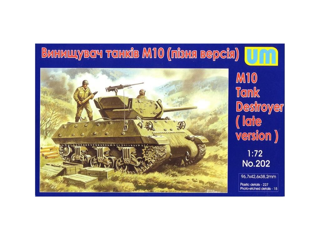 M10 Tank destroyer 1:72