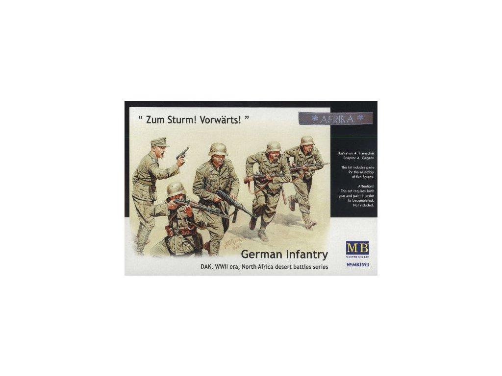 German Infantry, DAK, WWII, North Africa, desert battles series 1:35