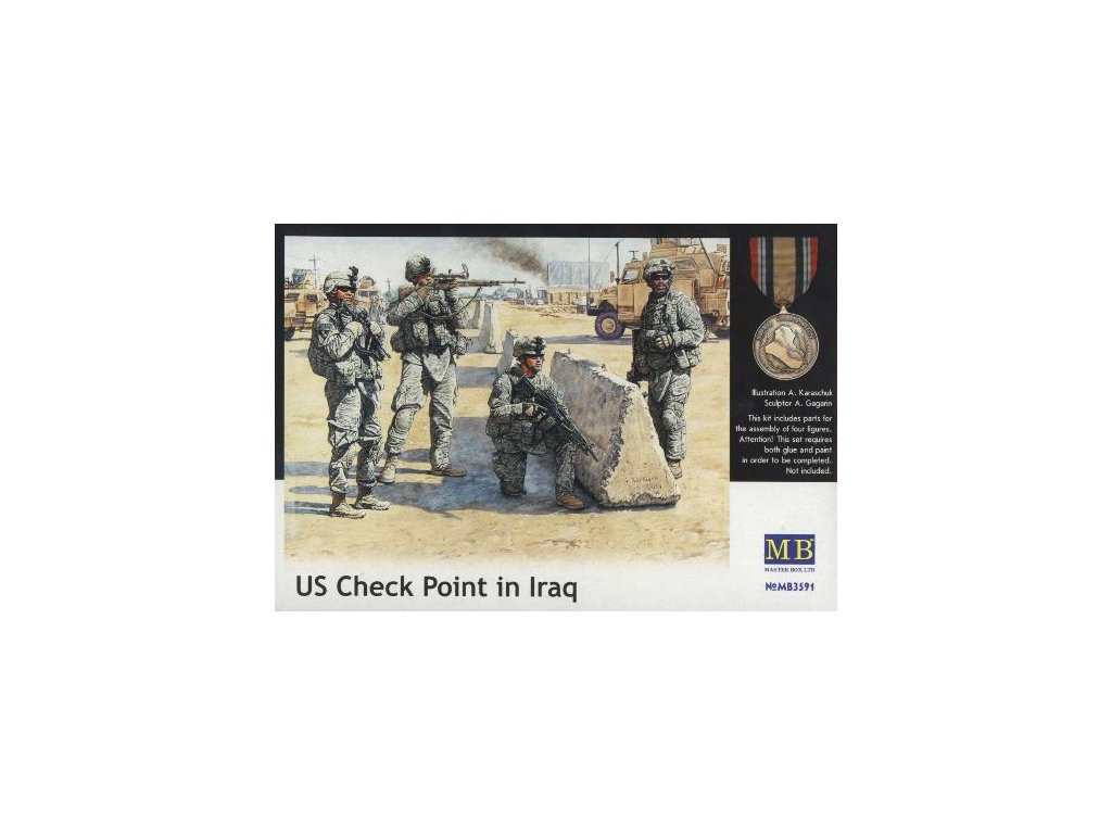 US Check Point in Iraq 1:35