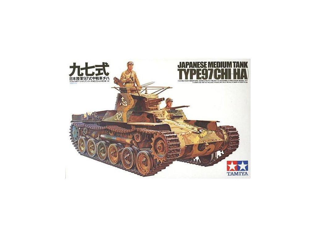 Japanese Tank Type 97 1:35