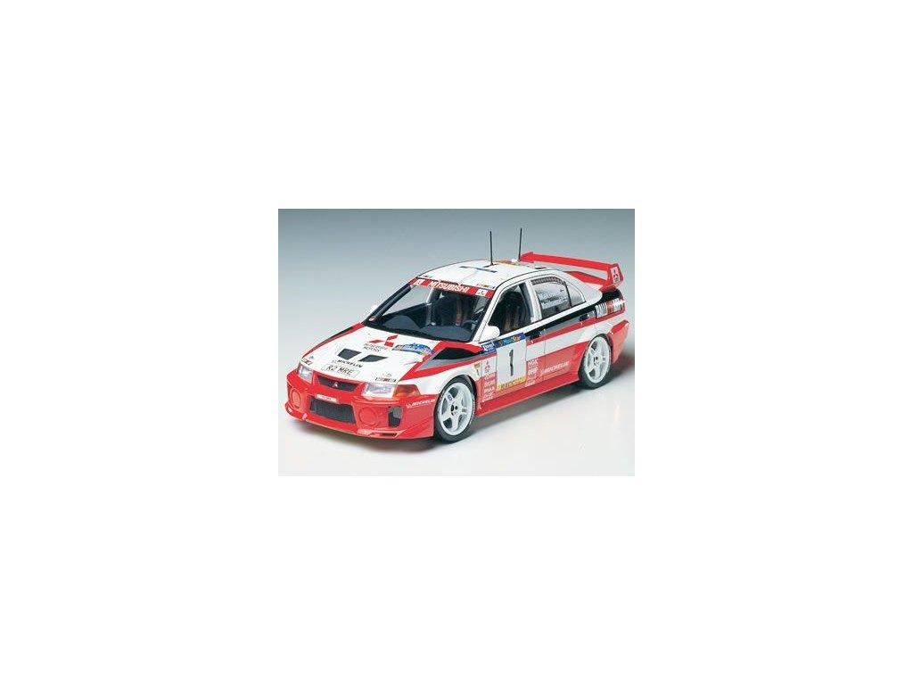 Mitsubishi Lancer Evo V WRC 1:24