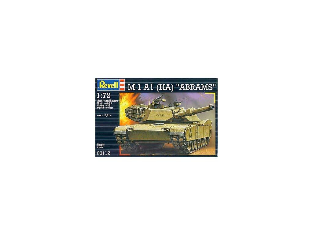 M1A1 (HA) Abrams 1:72