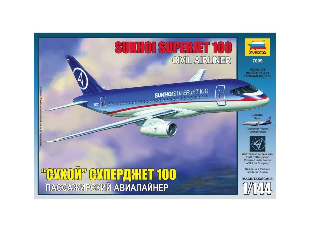 Sukhoi Superjet 100 1:144