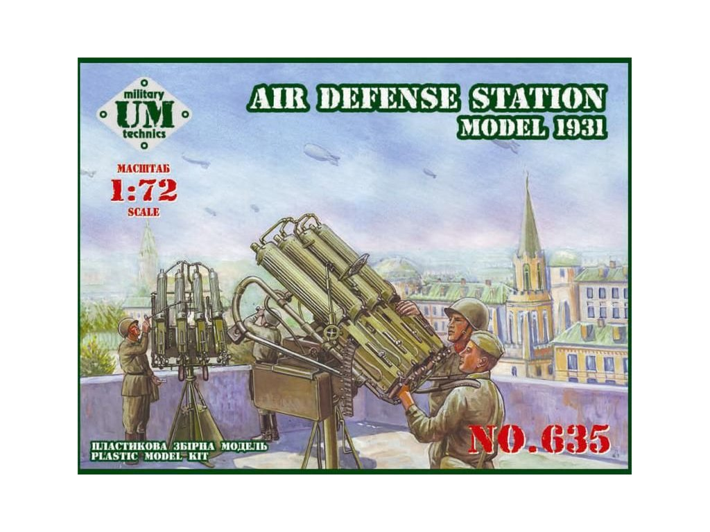Air Defense station 1:72