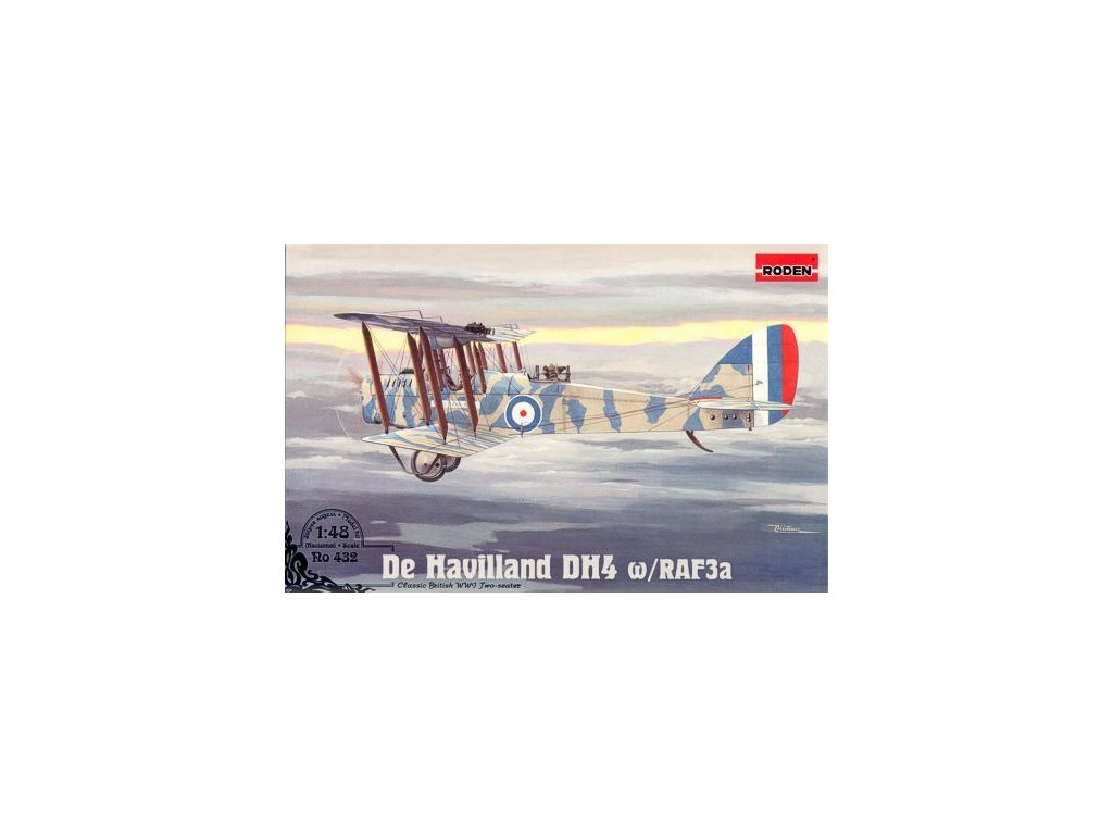 D.H.4 w RAF 3a 1:48