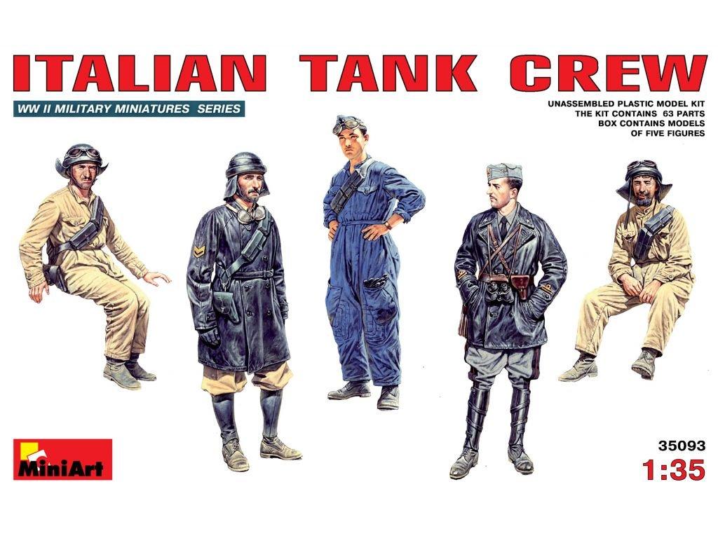 Italian Tank Crew 1:35