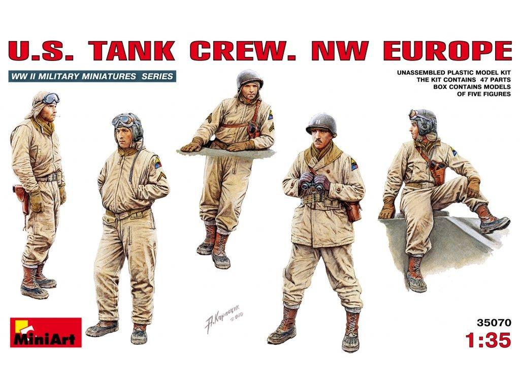 US tank crew 1:35