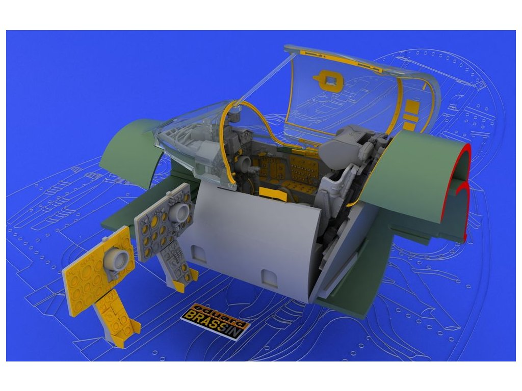 MiG-21SMT Interior 1:48 (Eduard) 1:48