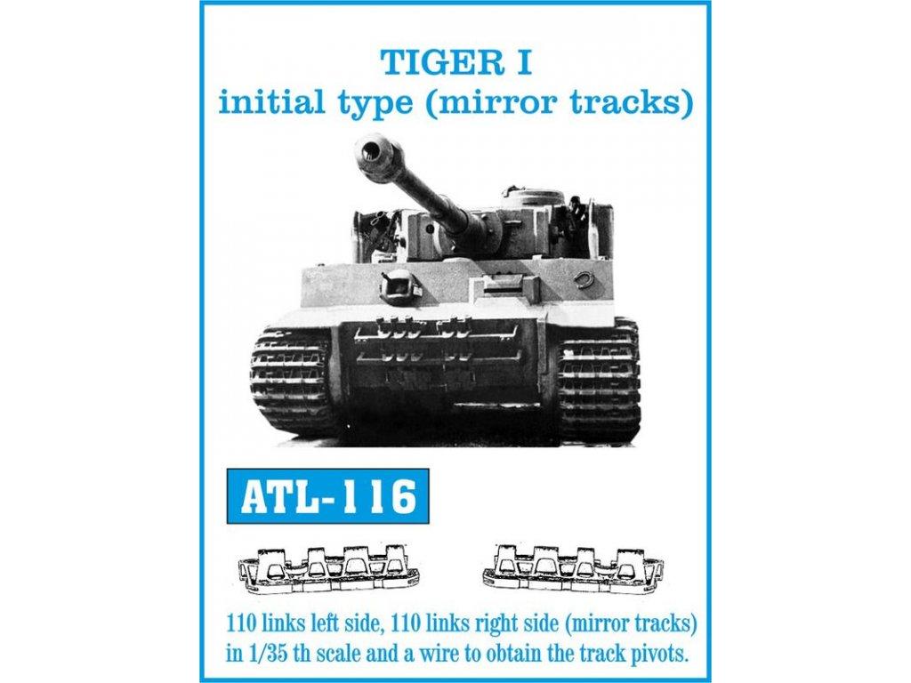 TIGER I initial type (mirror tracks) 1:35