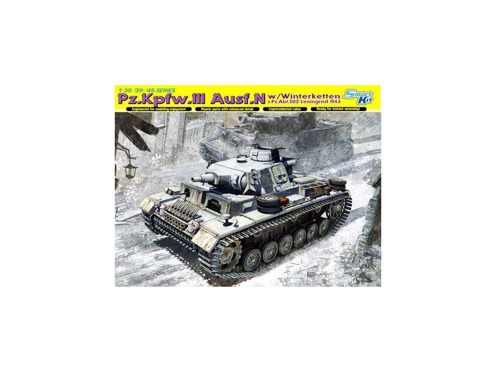 Pz.Kpfw.III Ausf.N w/Winterketten s.Pz.Abt.502 1:35