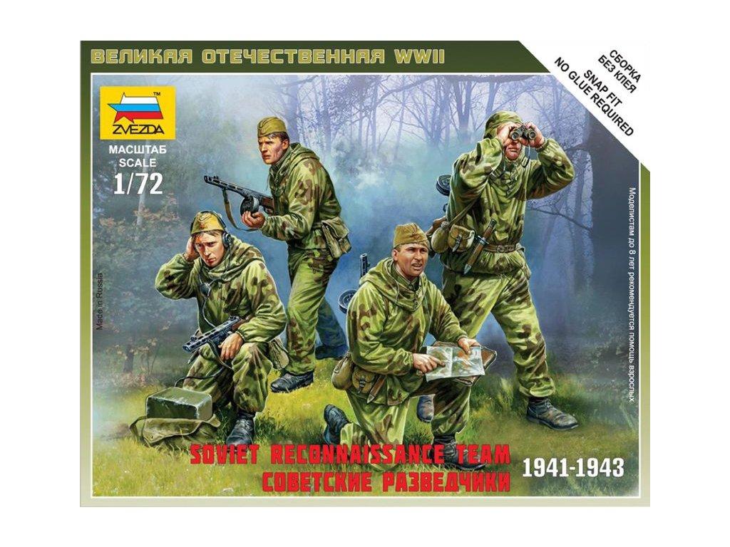 Soviet Reconnaissance Team 1:72