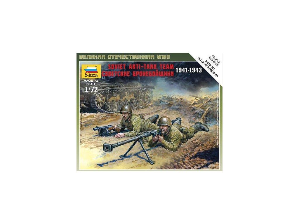 Soviet Anti-Tank Team 1:72