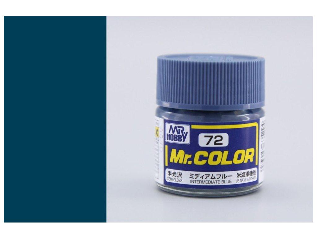 C072 Intermediate Blue - Prechodová modrá