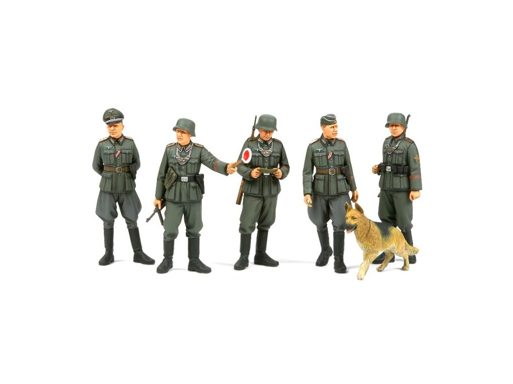 German Field Police set 1:35