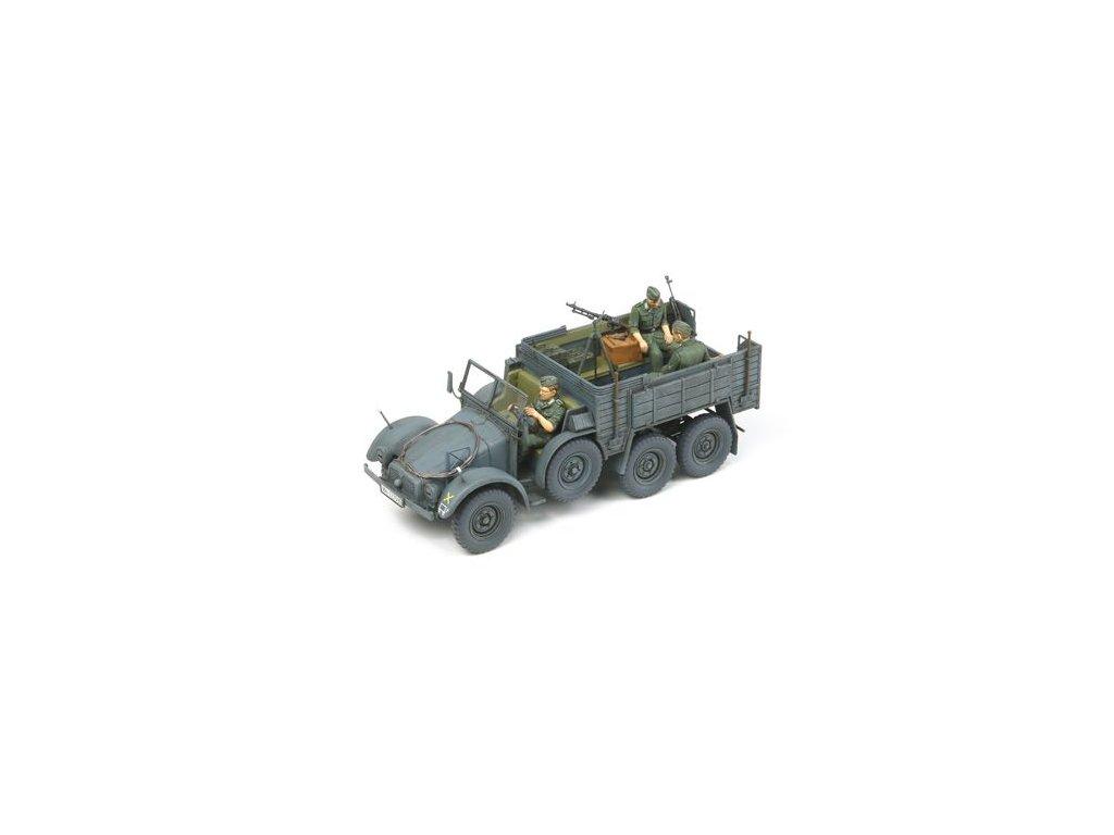 6x4 Truck Krupp Protze - Personnel Carrier 1:35