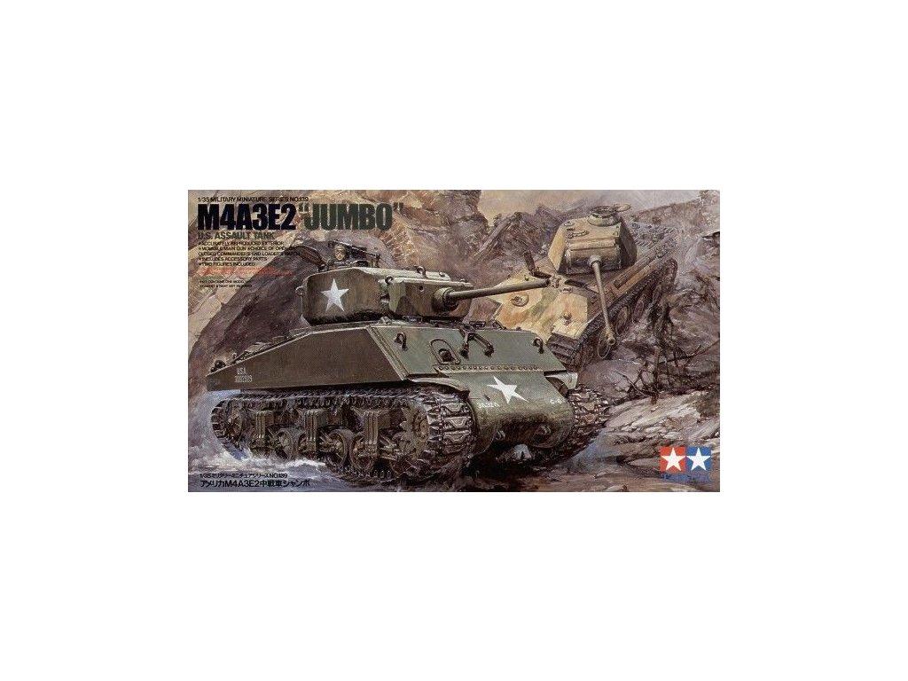 US Tank M4A3E2 Jumbo LL 1:35