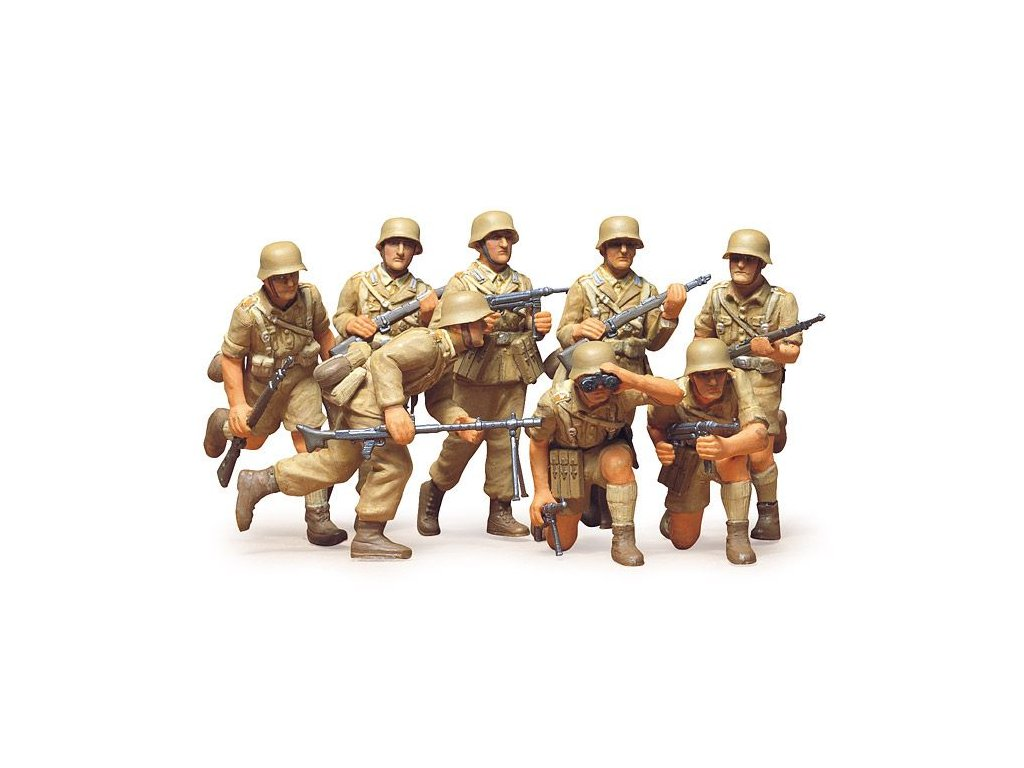 D.A.K German Afrika Corps LL 1:35