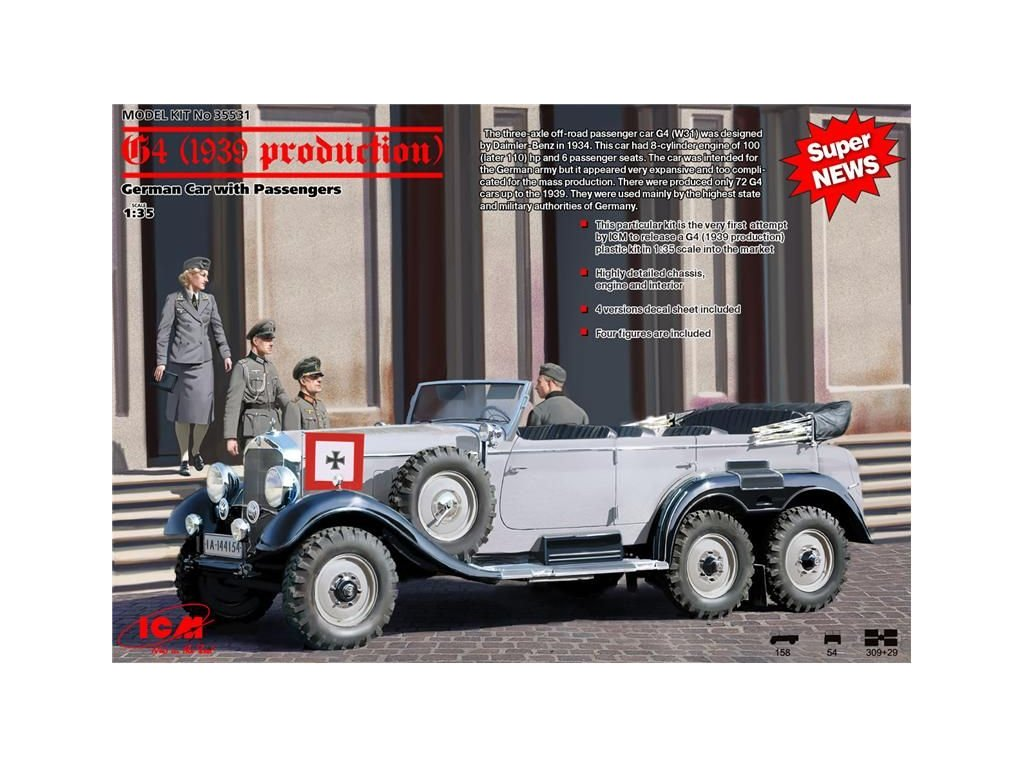 Daimler-Benz G4 (1939 production) 1:35