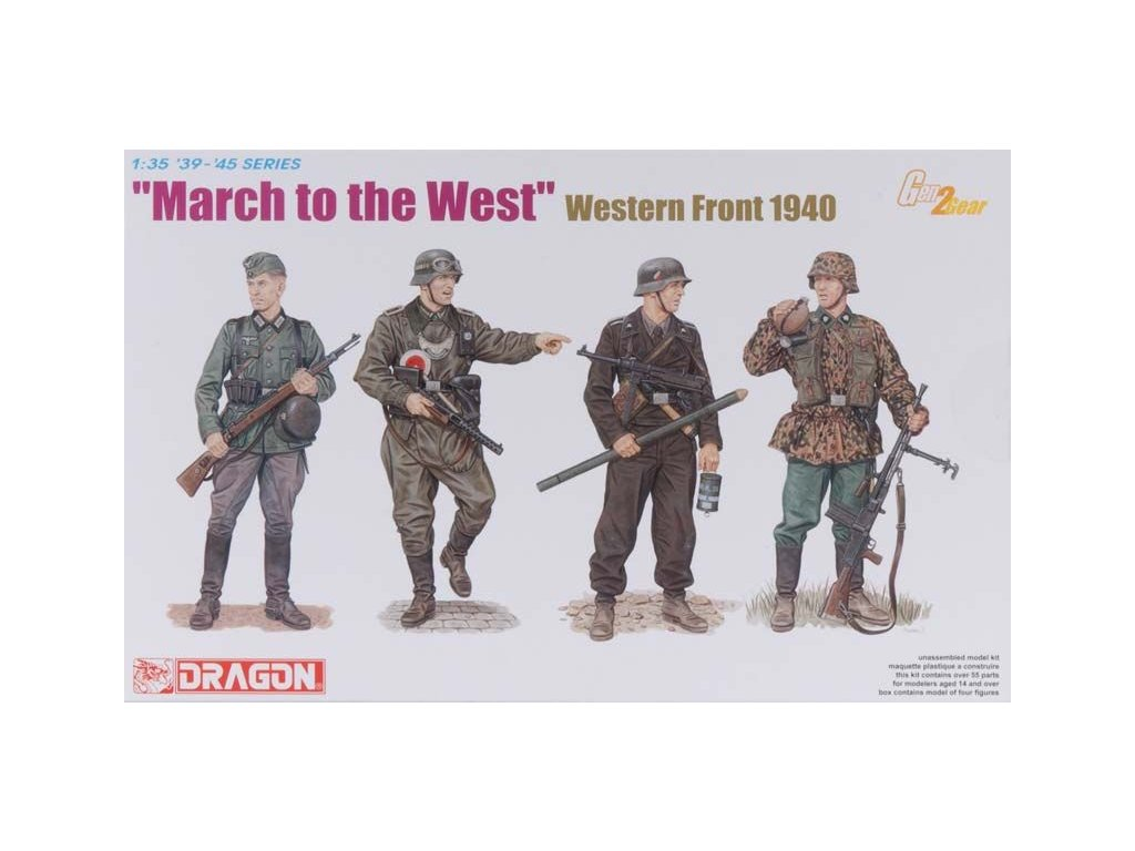 March To The West - Western Front 1940 1:35
