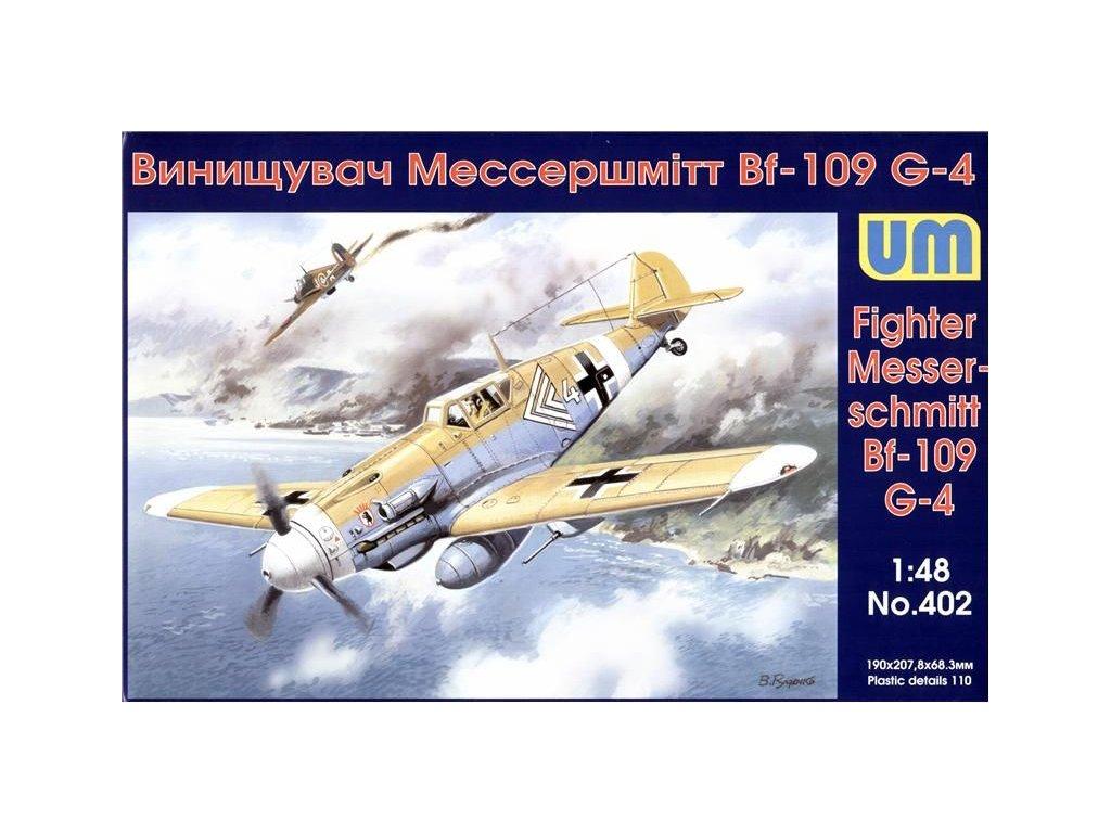 Messerschmitt Bf 109 G-4 1:48