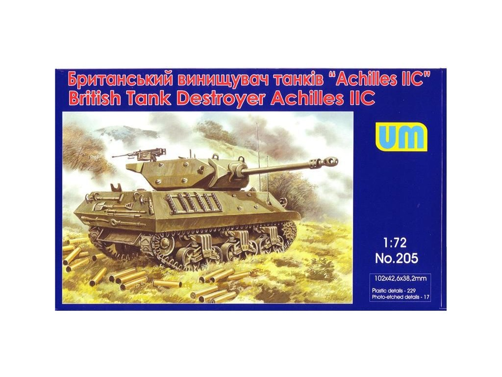 British Tank Destroyer Achilles IIC 1:72