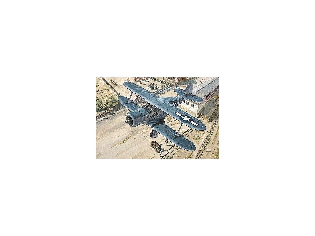 Beechcraft GB-2 Staggerwing (Traveller Mk.II) 1:48