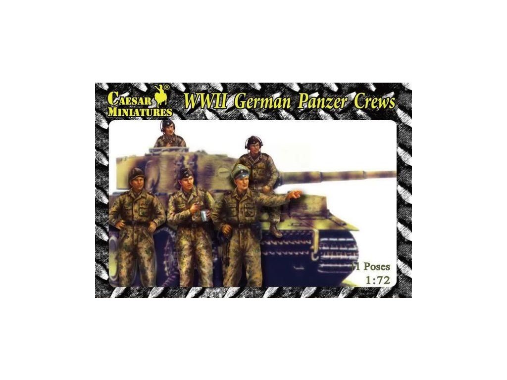 WWII German Panzer Crews 1:72