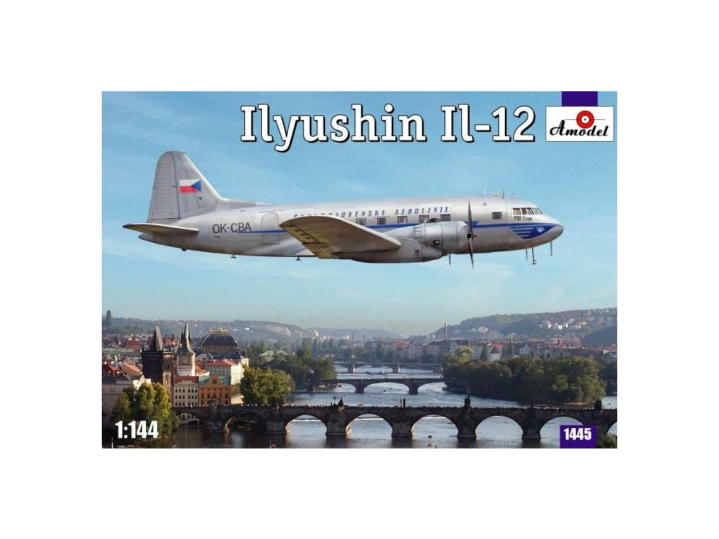 Ilyushin IL-12 Czech version 1:144