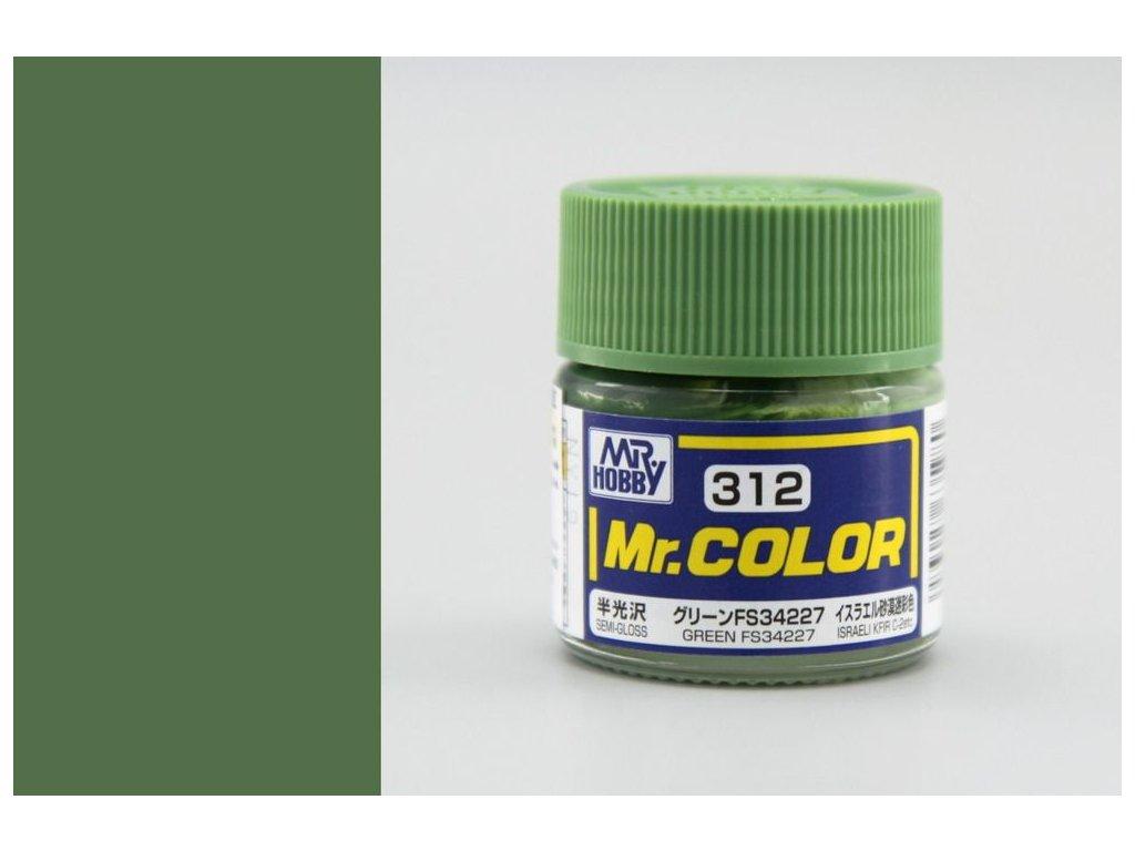 C312 FS34227 Green - Zelená