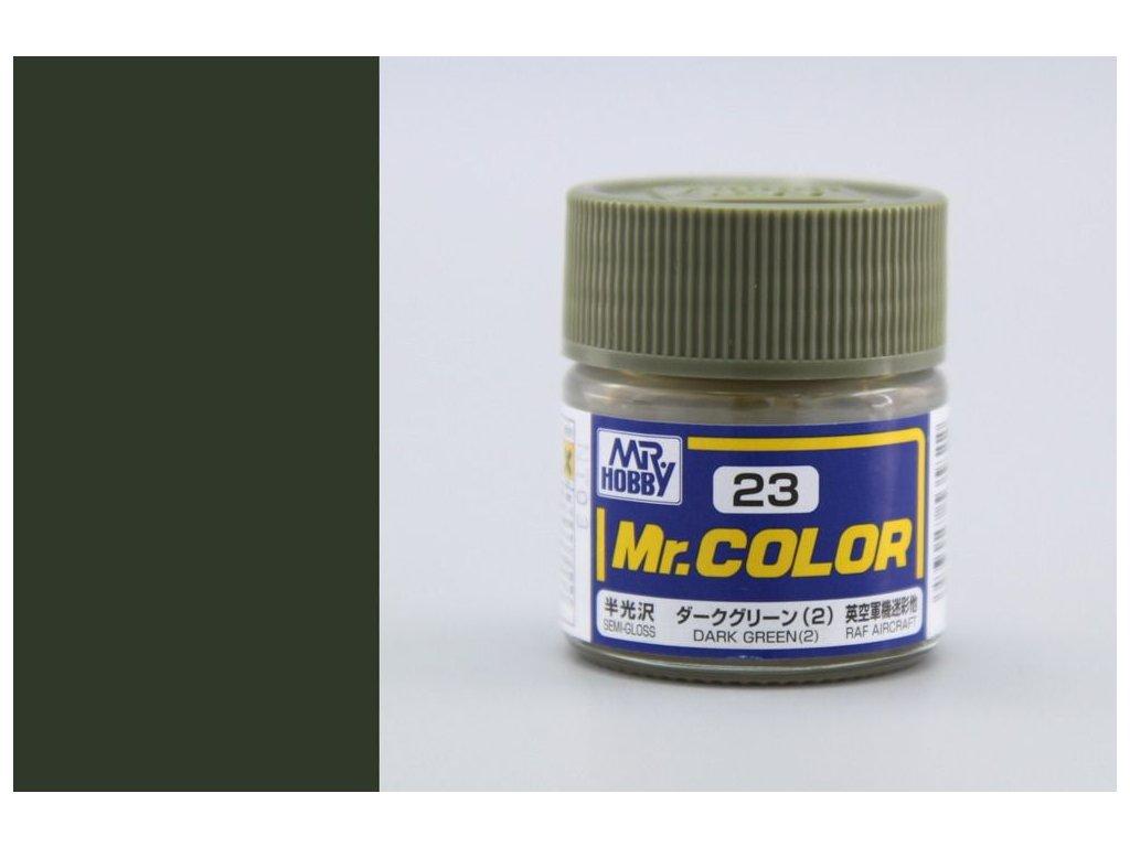 C023 Dark Green (2) - Tmavo zelená