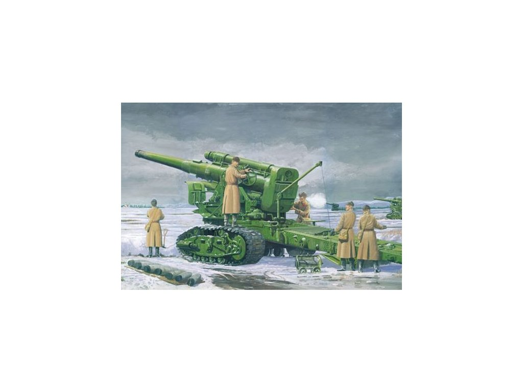 Russian Army B-4 M1931 203mm Howitzer 1:35