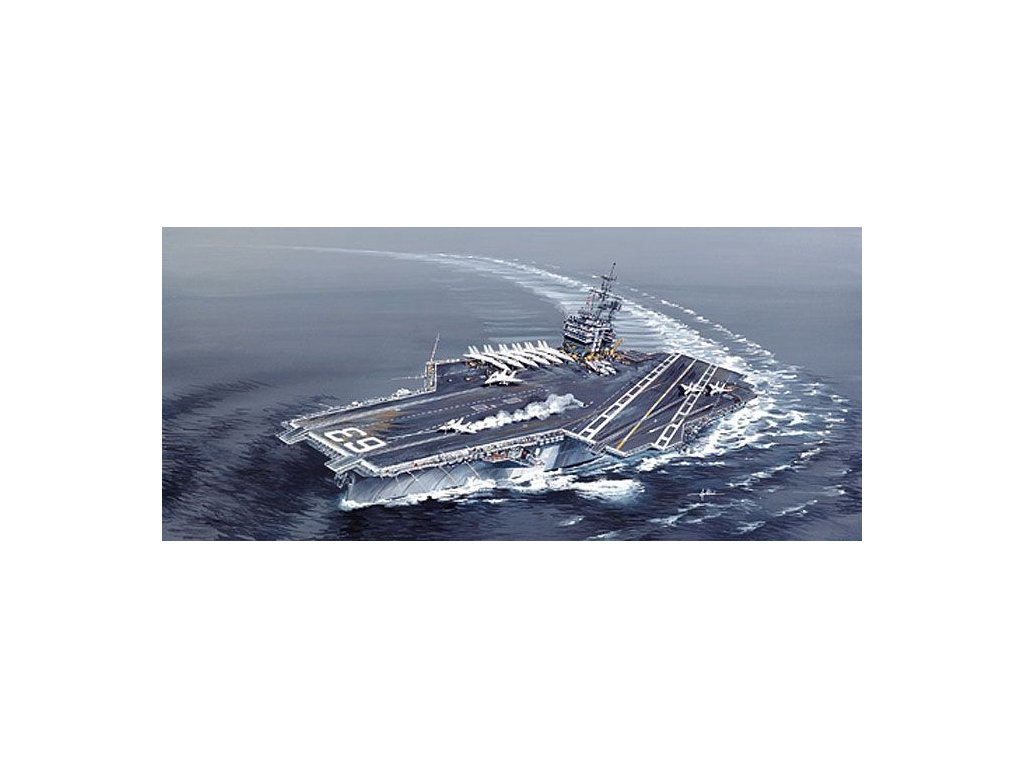 USS Kitty Hawk CV-63 1:720