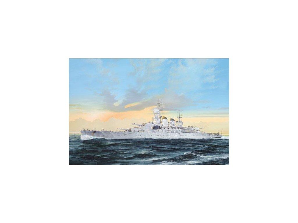 Italian Navy Battleship RN Littorio 1941 1:700
