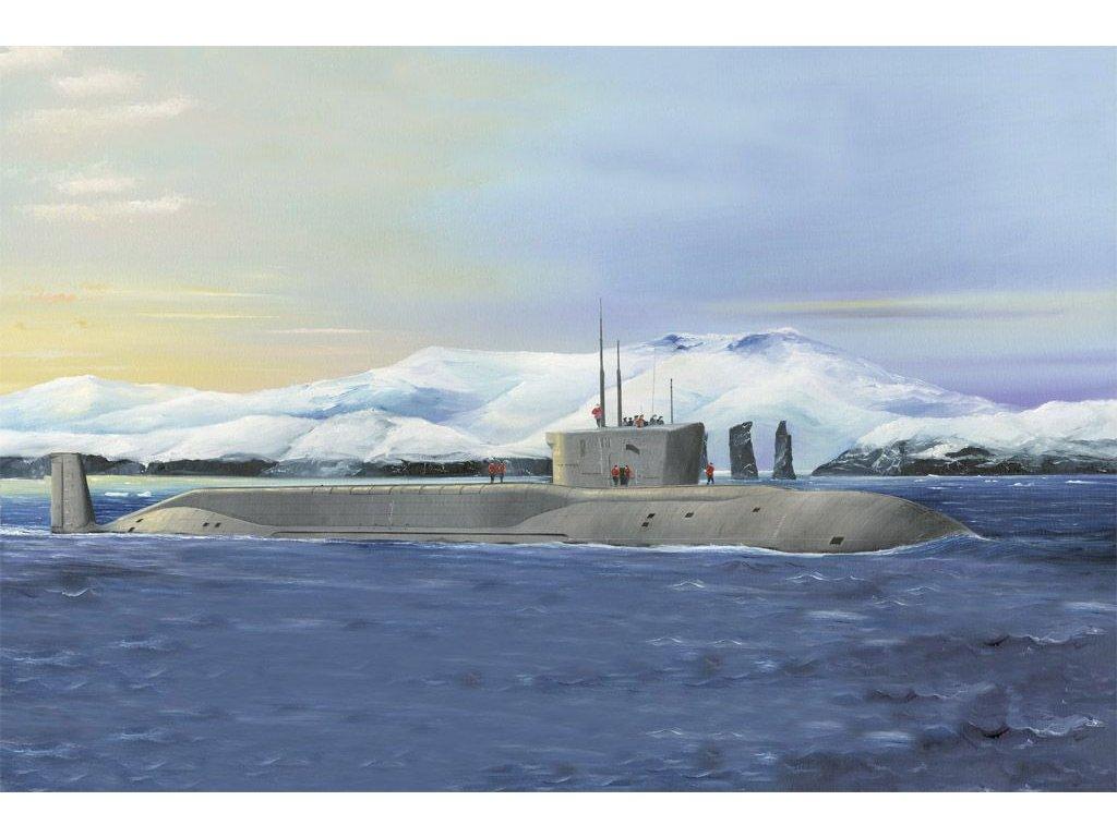 Russian Navy Project 955 Borei-Yuri Dolgoruky SSBN 1:350