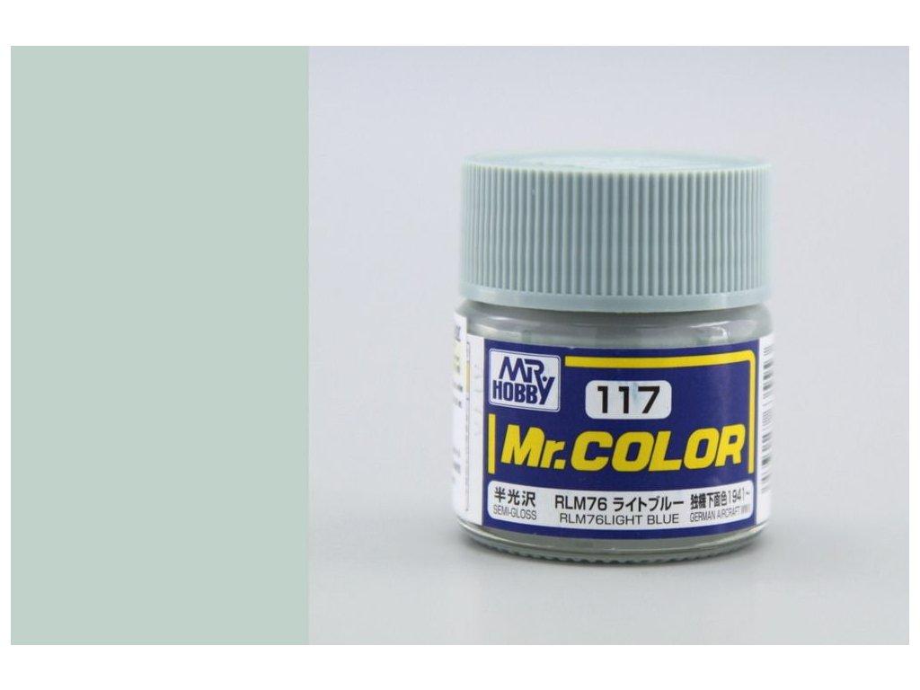 C117 RLM76 Light blue - Svetlo modrá