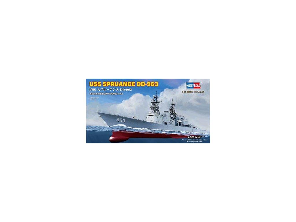 USS SPRUANCE DD-963 1:125