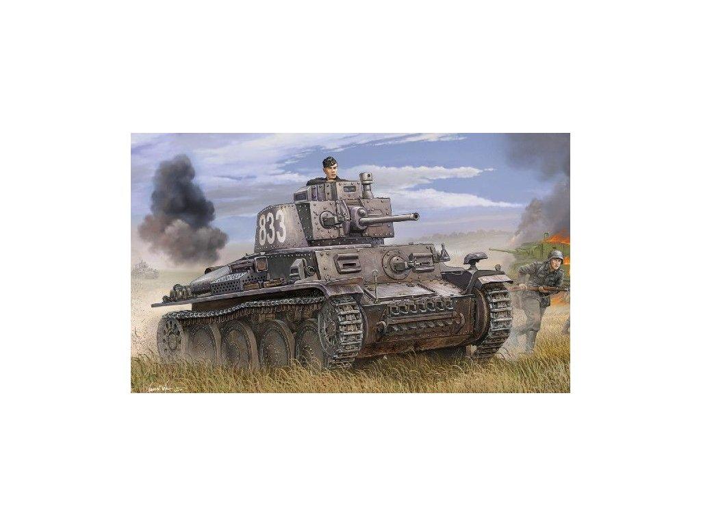 Pz.Kpfw. 38(t) Ausf.E/F 1:35